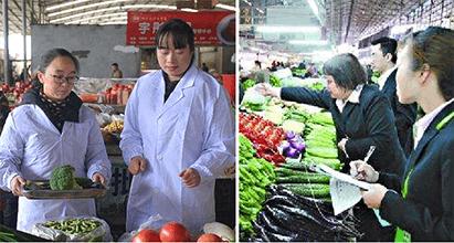 传统生鲜市场